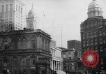 Image of City Hall New York City USA, 1940, second 11 stock footage video 65675072762