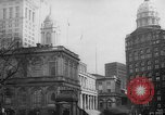 Image of City Hall New York City USA, 1940, second 12 stock footage video 65675072762