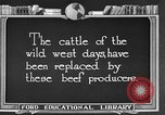 Image of cattle ranch United States USA, 1922, second 3 stock footage video 65675072785