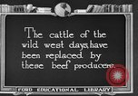 Image of cattle ranch United States USA, 1922, second 4 stock footage video 65675072785