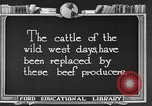 Image of cattle ranch United States USA, 1922, second 6 stock footage video 65675072785
