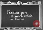 Image of cattle ranch United States USA, 1922, second 30 stock footage video 65675072786