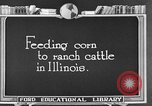 Image of cattle ranch United States USA, 1922, second 33 stock footage video 65675072786