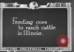 Image of cattle ranch United States USA, 1922, second 34 stock footage video 65675072786