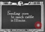 Image of cattle ranch United States USA, 1922, second 35 stock footage video 65675072786