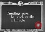 Image of cattle ranch United States USA, 1922, second 37 stock footage video 65675072786
