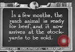 Image of cattle ranch United States USA, 1922, second 45 stock footage video 65675072786