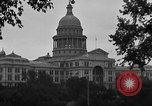 Image of State Capitol building Austin Texas USA, 1920, second 8 stock footage video 65675072792