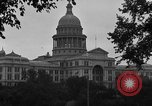 Image of State Capitol building Austin Texas USA, 1920, second 10 stock footage video 65675072792