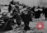 Image of German women and children evacuate Berlin Germany, 1943, second 28 stock footage video 65675072803