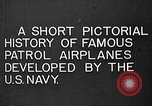 Image of Felixstowe F5L Flying Patrol Boats United States USA, 1917, second 2 stock footage video 65675072804