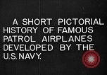 Image of Felixstowe F5L Flying Patrol Boats United States USA, 1917, second 10 stock footage video 65675072804