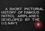Image of Felixstowe F5L Flying Patrol Boats United States USA, 1917, second 11 stock footage video 65675072804