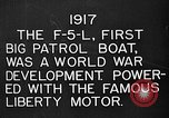 Image of Felixstowe F5L Flying Patrol Boats United States USA, 1917, second 13 stock footage video 65675072804