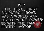 Image of Felixstowe F5L Flying Patrol Boats United States USA, 1917, second 16 stock footage video 65675072804