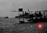 Image of Curtiss NC-4 flying boat Lisbon Portugal, 1919, second 48 stock footage video 65675072805