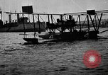 Image of Curtiss NC-4 flying boat Lisbon Portugal, 1919, second 50 stock footage video 65675072805