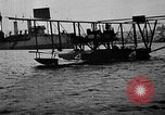 Image of Curtiss NC-4 flying boat Lisbon Portugal, 1919, second 51 stock footage video 65675072805