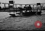 Image of Curtiss NC-4 flying boat Lisbon Portugal, 1919, second 52 stock footage video 65675072805