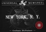 Image of 1941 Golden Glove boxing tournament New York United States USA, 1941, second 6 stock footage video 65675072849