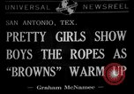 Image of Cleveland Browns San Antonio Texas USA, 1941, second 1 stock footage video 65675072852