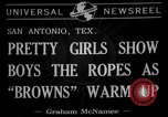 Image of Cleveland Browns San Antonio Texas USA, 1941, second 4 stock footage video 65675072852