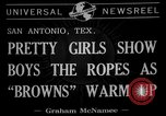 Image of Cleveland Browns San Antonio Texas USA, 1941, second 6 stock footage video 65675072852