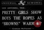 Image of Cleveland Browns San Antonio Texas USA, 1941, second 7 stock footage video 65675072852