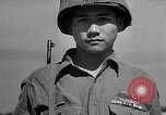 Image of American soldiers of Japanese ancestry Italy, 1944, second 60 stock footage video 65675072897