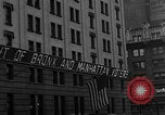 Image of 1944 Presidential election news reports New York City USA, 1944, second 29 stock footage video 65675072900