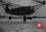 Image of Fa 223 helicopter Germany, 1942, second 4 stock footage video 65675072918