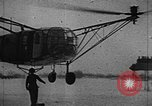 Image of Fa 223 helicopter Germany, 1942, second 30 stock footage video 65675072918