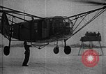 Image of Fa 223 helicopter Germany, 1942, second 40 stock footage video 65675072918