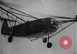 Image of Fa 223 helicopter Germany, 1942, second 50 stock footage video 65675072918