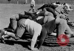 Image of football practice San Francisco California USA, 1929, second 40 stock footage video 65675072933