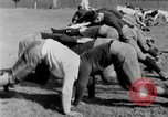 Image of football practice San Francisco California USA, 1929, second 41 stock footage video 65675072933