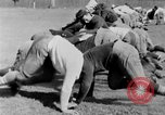 Image of football practice San Francisco California USA, 1929, second 42 stock footage video 65675072933