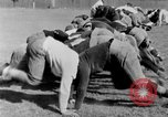 Image of football practice San Francisco California USA, 1929, second 43 stock footage video 65675072933