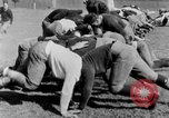 Image of football practice San Francisco California USA, 1929, second 46 stock footage video 65675072933