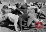 Image of football practice San Francisco California USA, 1929, second 48 stock footage video 65675072933