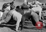Image of football practice San Francisco California USA, 1929, second 50 stock footage video 65675072933