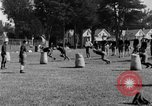 Image of football practice San Francisco California USA, 1929, second 56 stock footage video 65675072933