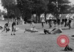 Image of football practice San Francisco California USA, 1929, second 58 stock footage video 65675072933