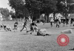 Image of football practice San Francisco California USA, 1929, second 59 stock footage video 65675072933