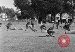 Image of football practice San Francisco California USA, 1929, second 60 stock footage video 65675072933