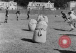 Image of football practice San Francisco California USA, 1929, second 61 stock footage video 65675072933