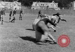 Image of football practice San Francisco California USA, 1929, second 62 stock footage video 65675072933