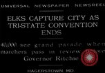 Image of grand parade Hagerstown Maryland USA, 1929, second 1 stock footage video 65675072934