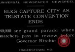 Image of grand parade Hagerstown Maryland USA, 1929, second 5 stock footage video 65675072934