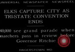 Image of grand parade Hagerstown Maryland USA, 1929, second 6 stock footage video 65675072934